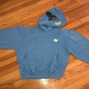 Freecity cropped sweatshirt hoodie size small